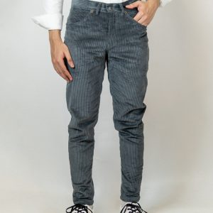Men's Grey Corduroy Casual Trousers by Gorur Ghash. Fabric: Corduroy. Price: ৳1400. Made in Bangladesh (BD). Buy it now!